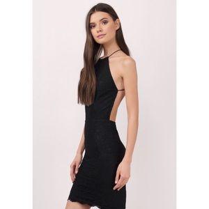 Tobi Lace Open-back Bodycon Dress